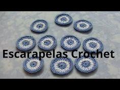Escarapela Argentina redonda en tejido crochet tutorial paso a paso. - YouTube Baymax, Crochet Videos, Crochet Earrings, Diy, Youtube, Science, Sports, How To Knit, Hand Embroidery