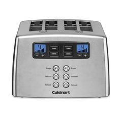 CPT-440 - Touch to Toast™ Leverless 4-Slice Toaster - Toasters - Products - Cuisinart.com