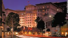 """CNN's """"9 Glamorous movie-star hotels"""" The #BeverlyWilshire is referred to by some locals as the """"Pretty Woman"""" hotel for its role in the 1990 film starring Julia Roberts and Richard Gere. See who has been spotted here: http://celebhotspots.com/hotspot/?hotspotid=5461&next=1"""