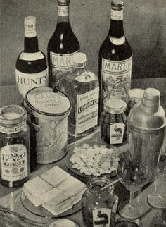 Vintage Chic: Hosting a Vintage Style Cocktail Party , great blog for ideas