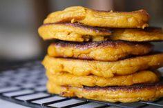 Easy Sweet Potato Pancakes - Baby Led Weaning Ideas