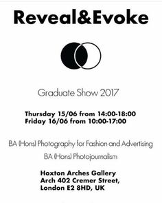 Tune to our story today and tomorrow to see #RevealandEvoke the long awaited exhibition by the talented photography soon to be graduates of @unisouthwales @photoj_usw showcasing their final degree show at @hoxton_arches via Hashtag Magazine on Instagram - #photographer #photography #photo #instapic #instagram #photofreak #photolover #nikon #canon #leica #hasselblad #polaroid #shutterbug #camera #dslr #visualarts #inspiration #artistic #creative #creativity