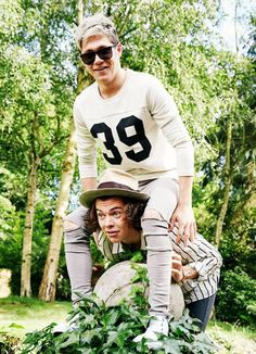 Harry Styles and Niall Horan - FOUR photoshoot