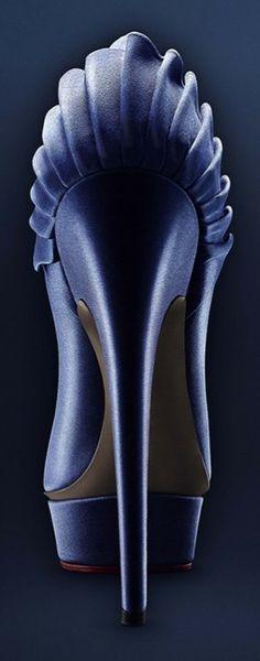 Charlotte Olympia high heel pumps back view | LBV ♥✤ | KeepSmiling | BeStayElegant | LBV ARCHIVES