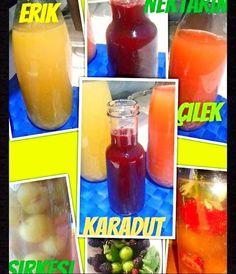 SİRKE YAPIMI Hummus Dip, Turkish Recipes, Ketchup, Vinegar, Pickles, Bottle, How To Make, Food, Acv