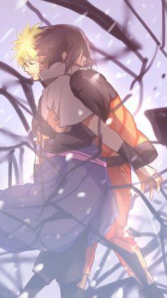 Naruto Uzumaki and Sasuke Uchiha Naruto Vs Sasuke, Anime Naruto, Naruto Cute, Naruto Shippuden Anime, Hinata, Sasunaru, Narusasu, Boruto, Photo Naruto