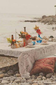 Bohemian beach soiree