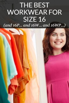 We rounded up the best workwear for size 16 and other cusp-sized, inbetweener women -- and the best plus size petites and regular petite sizes like Best Workwear, Plus Size Workwear, Workwear Fashion, Size 16 Fashion, Work Fashion, Professional Outfits, Professional Women, Size 16 Dresses, Plus Size Outfits
