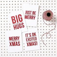Multi Pack Contemporary Christmas Cards - White - £10.00