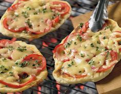 Lactose free cheese and store bought pizza crust are used to make these pizzas. Reminiscent of a gourmet pizza offering, this pizza pulls extra flavor from being prepared on the grill.