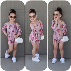 Girl Jumpsuits US Kids Baby Girl Romper Floral Jumpsuit Sunsuit Summer Outfits Clothes Summer Outfits baby clothes Floral girl jumpsuit Jumpsuits Kids Outfits Romper Summer Sunsuit Cute Little Girls Outfits, Girls Summer Outfits, Dresses Kids Girl, Little Girl Fashion, Fashion Kids, Fashion 2015, Fashion Today, Trendy Fashion, Jumpsuits For Girls