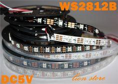 $2.86 (Buy here: https://alitems.com/g/1e8d114494ebda23ff8b16525dc3e8/?i=5&ulp=https%3A%2F%2Fwww.aliexpress.com%2Fitem%2F5M-30Pixel-M-150-5050-RGB-SMD-WS2811-IC-Built-in-WS2812B-WS2812-white-PCB-Addressable%2F32367479484.html ) 1m/5m WS2812B Smart led pixel strip,Black/White PCB,30/60/144 leds/m WS2812 IC;WS2812B/M 30/60/144 pixels,IP30/IP65/IP67 DC5V for just $2.86
