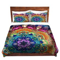 Rachel Brown's 'Microcosm Mandala' | Designer Artistic Unique Duvet Covers and Shams