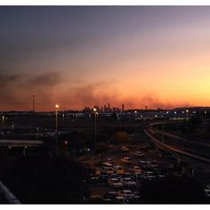 Final look back towards #Brisbane from the #airport. A very sad farewell it was indeed. #sunset #dusk #city #SeeTheWorld #explore #adventure #Australia #Queensland #QLD #travel #tourism #tourist