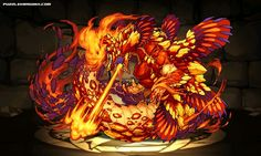 狂炎なるもの・クトゥグア stats, skills, evolution, location | Puzzle & Dragons Database