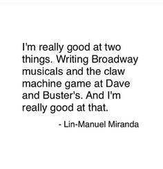 Lin said this in the Heights Backstage video for Broadway.com. It's on their Youtube channel, and it's a heckin' good one, check it out.