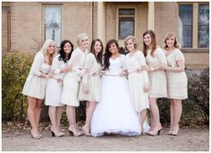 darling groomal feature on Utah Bride Blog at Wadley farms photographed by Alyssia B. This session included the bridesmaids to save time on the big day and make sure to capture the bride and her ladies! Clever!