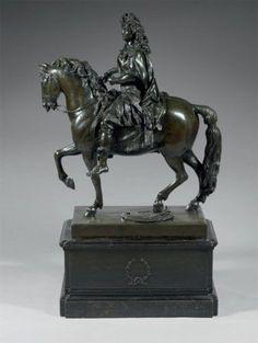 louis xiv a cheval statue - Google Search
