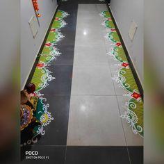 Indian Rangoli Designs, Rangoli Designs Latest, Simple Rangoli Designs Images, Rangoli Border Designs, Colorful Rangoli Designs, Beautiful Rangoli Designs, Rangoli Borders, Rangoli Patterns, Rangoli Ideas