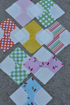 bow tie quilt blocks