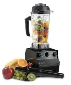 Amazon.com: Vitamix 5200s Black : Featuring Variable Speed Control and Large Capacity 64oz Container - Also includes Getting Started Plus Re...