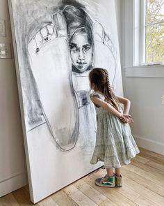 "S A R A H M A D E I R A D A Y on Instagram: ""My girl's got a sharp eye #charcoaldrawing #portrait #daughter #drawing #portraitdrawing #art #"" Charcoal Drawing, My Girl, Daughter, Eyes, Portrait, Drawings, Artwork, Instagram, Work Of Art"