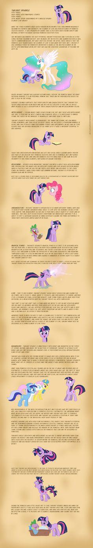 Luna's Studies - Twilight  by *Nimaru on deviantART