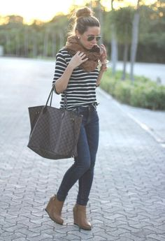 Fall outfit for short boots
