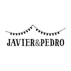 """El sello """"Farolillos"""" es ideal para parejas elegantes y originales. Podréis encontrar más sellos en: www.shop.aticomdesign.es  #sello #wedding #boda #perfectwedding #selloboda #sellodeboda #papeleriaboda #decoracionboda"""