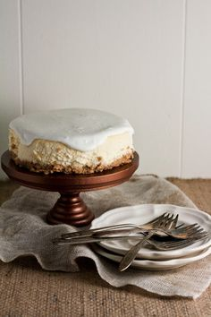 """Miette's Miniature Cheesecake-I use the word """"miniature"""" to describe the cheesecake recipe___this cheesecake is baked using a 6-inch springform pan. Six inches is a modest amount¬¬___believe me when I say you'll want as much of this cheesecake as you can get. From the homemade honey graham cracker crust to the perfectly smooth top, this cheesecake is a dream come true. (This writer incorporates all of the advice for making the perfect cheesecake, really good advice that will insure…"""