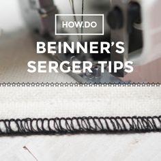 Beginner Serger tips