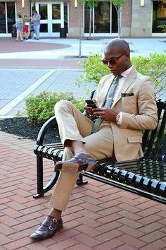 Khaki Suit Inspiration - 33