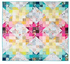 Obsession Quilt by Laura @ Needles, Pins and Baking Tins, via Flickr