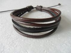 fashion multicolor Adjustable  real leather  by feihong2012, $3.00