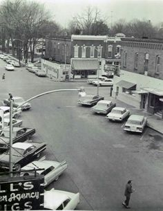 Downtown Vicksburg, MI 1967.