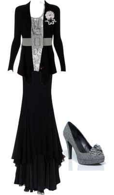 """""""Grey.Black."""" by chattertongirl on Polyvore"""