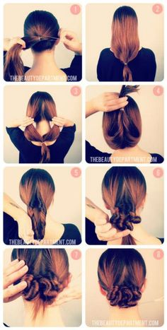 DIY | Hair updo