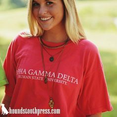 simple design to rep your sorority!