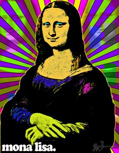 Mona Lisa Pop Art by LeisureLarry990 on DeviantArtMore Pins Like This At FOSTERGINGER @ Pinterest