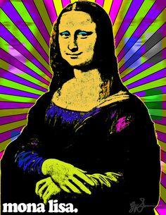 Mona Lisa Pop Art by LeisureLarry990 on DeviantArt