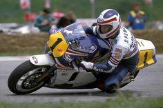 Freddie with Rothmans HONDA NSR 500