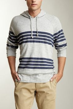 Great Striped Hoodie