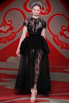 Ulyana Sergeenko Fall 2012 Couture - Collection - Gallery - Look - Style.com