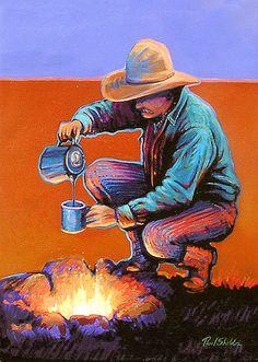 Paul Sheldon, western artist