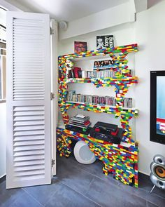Lego Bookshelf