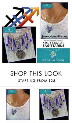 Jewelry by Scotti / Sagittarius by scotticohn on Polyvore