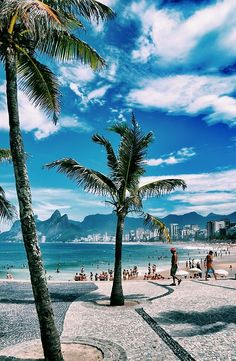 Ipanema Beach, Rio de Janeiro, Brazil travel Share and Enjoy! Dream Vacations, Vacation Spots, Brazil Vacation, Brazil Travel, Vacation Ideas, Places Around The World, Travel Around The World, Lonly Planet, Places To See