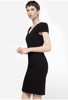 Wanita > Pakaian > Dress > Bodycon Dress|Work Dress|Mini Dress > Seam Bodycon Dress > Mango