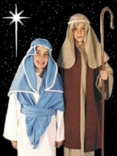 Biblical Costumes for Nativity Christmas Plays and Manger Scenes