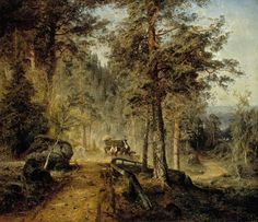 Finnish National Gallery - Art Collections - Road in Häme (A Hot Summer Day)
